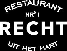 Welkom bij Restaurant Recht